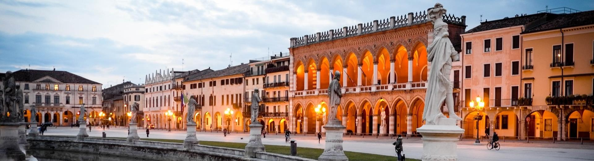 Visit Padova and stay at the 4 star Plus Hotel Galileo