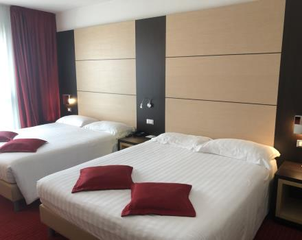 Book The quadruple rooms of the BW Plus Hotel Galileo in Padua!