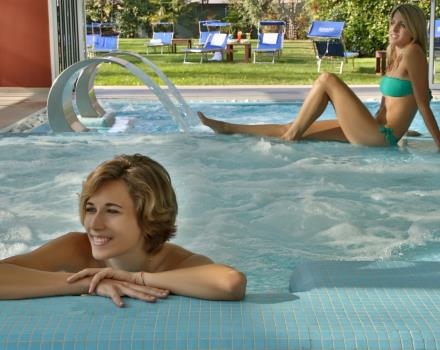 Piscina relax Best Western Plus Galileo Padova