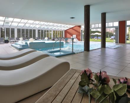 Relax in the Wellness center of our 4 star hotel in Padua