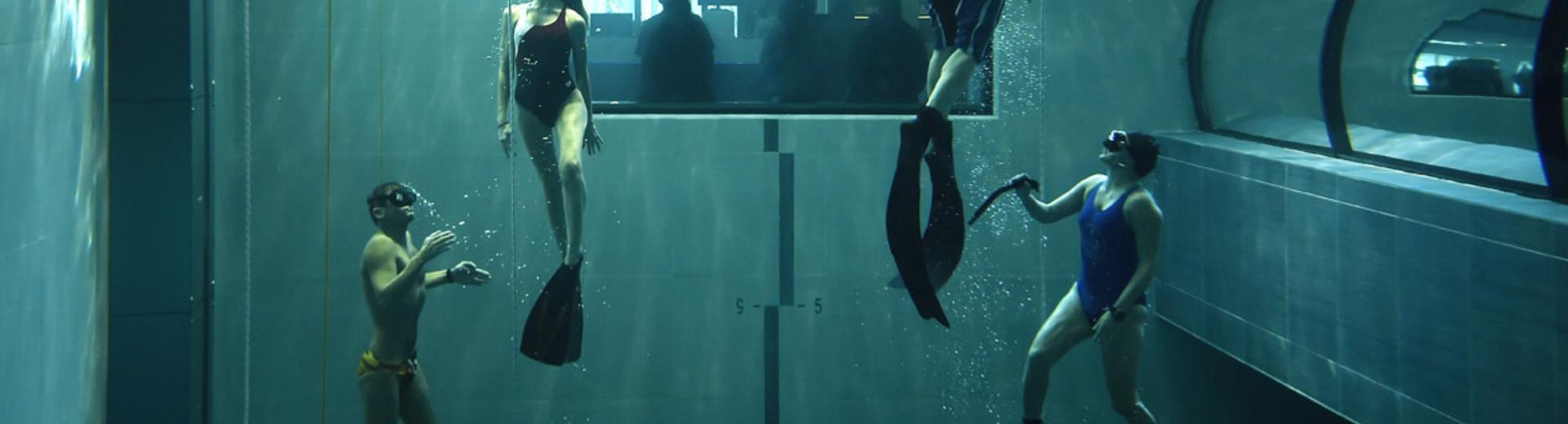 Padova y 40 la piscina pi profonda al mondo bw plus for Piscina y 40 padova
