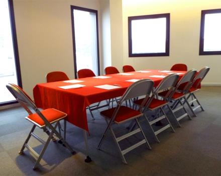 Ganymede room for your meetings at the Best Western Plus Hotel Galileo Padova