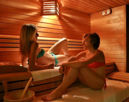 Finnish sauna Best Western Plus Hotel Galileo Padova