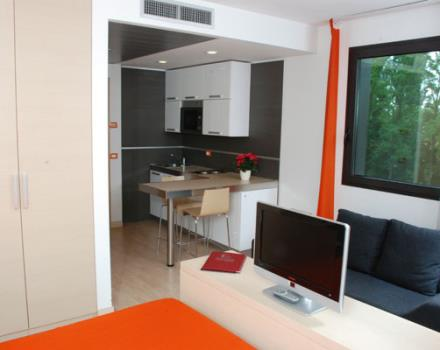 At Residence Galileo 50 fully equipped apartments in the Centre of Padua