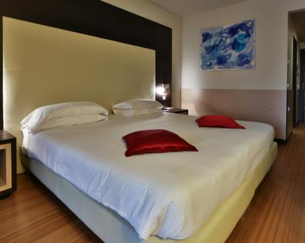Junior Suite Best Western Plus Hotel Galileo Padova, bright and spacious with private terrace.
