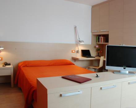 The hotel Galileo Padova is possible to rent studios for stays longer than one week