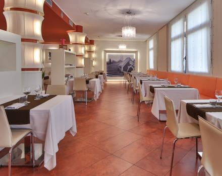 Venetian and international specialties in the restaurant of BW Plus Hotel Galileo