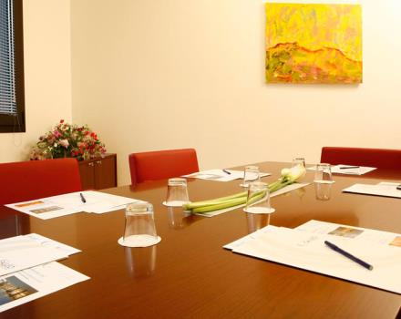 Discover the conference rooms in the Best Western Plus Hotel Galileo Padova and organize your events in Padua