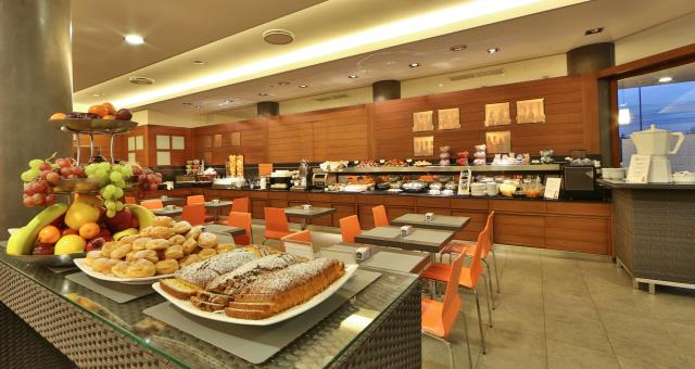 Breakfast buffet Hotel Galileo Padova