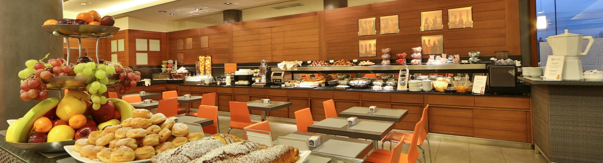 Breakfast buffet every morning from 7.00 a.m. to 10.30 hours.