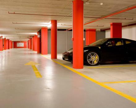 Servizi albergo 4 stelle a padova best western plus galileo - Garage interrato ...