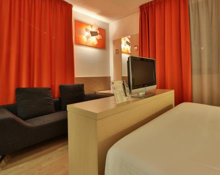 The BW Plus Hotel Galileo in Padua also offers apartments for extended stays