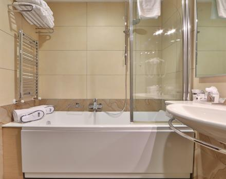 Discover the comfortable and spacious rooms of our 4 star hotel in Padua